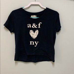 Short Sleeve Crop Top Tee